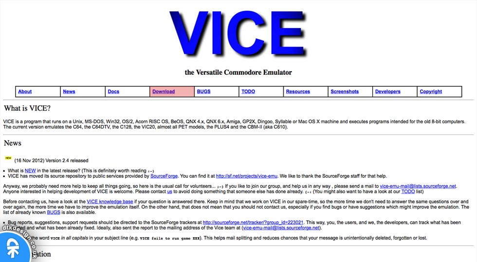VICE Download Page