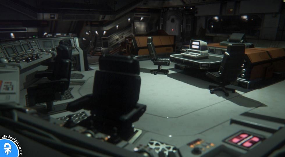 Alien Isolation Interior Design