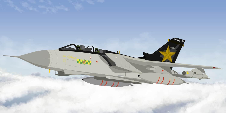 RAF Marham 2019 Tornado Liveries for X-Plane 11