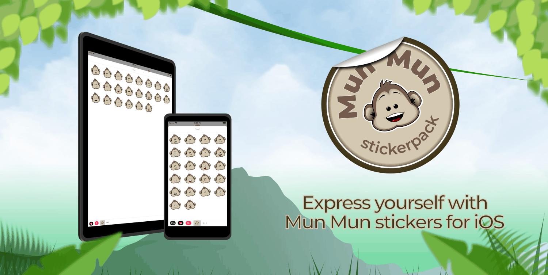 Mun Mun Sticker Pack for iOS
